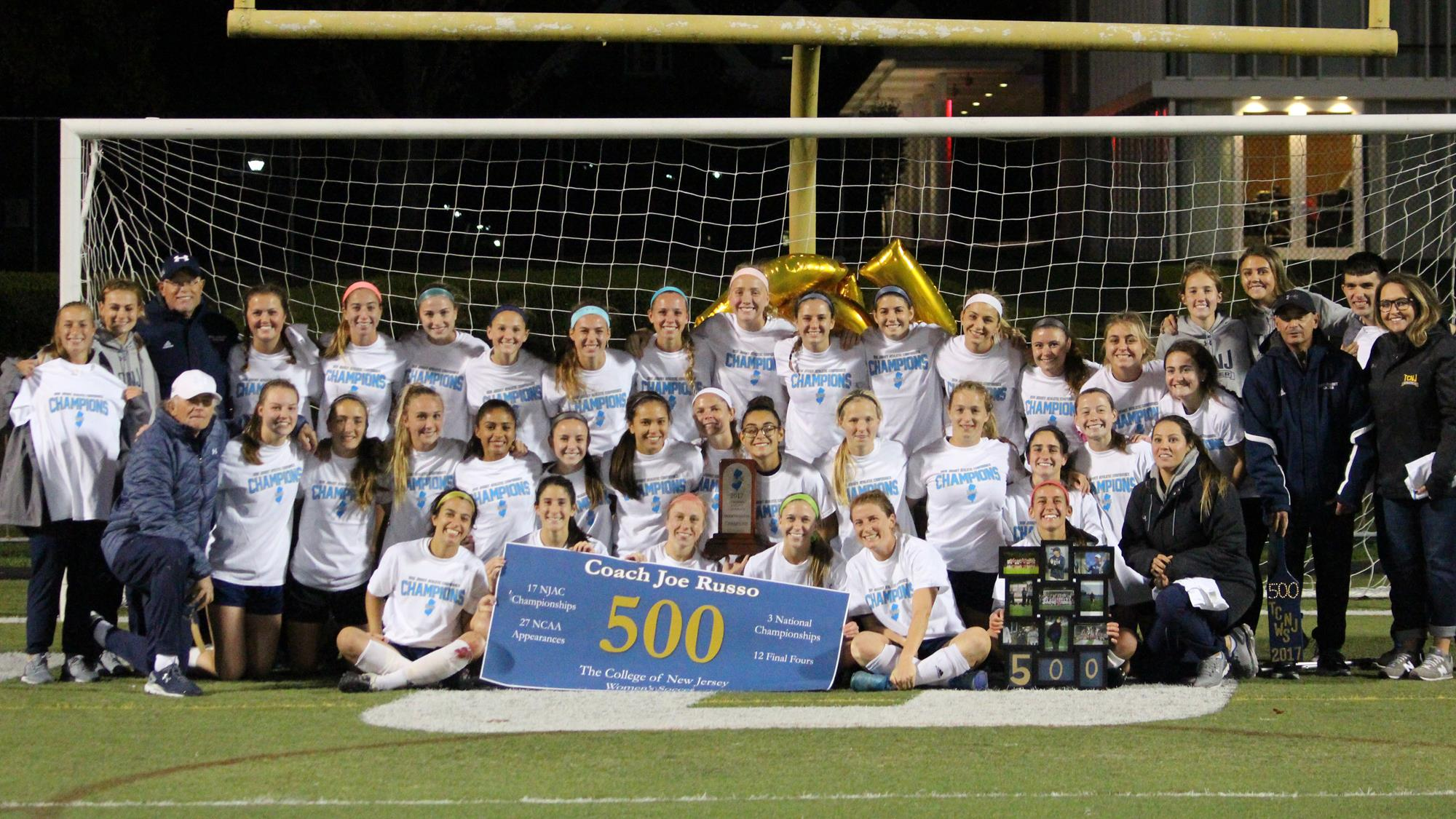 lions win njac championship on richman header the college of new